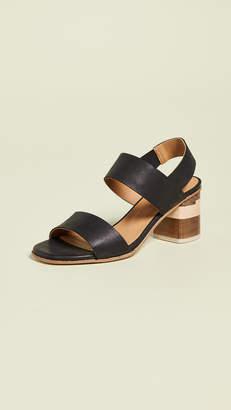 Coclico Bask Tri Color Sandals