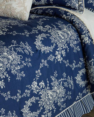 Sherry Kline Home Queen 3-Piece Country Toile Comforter Set