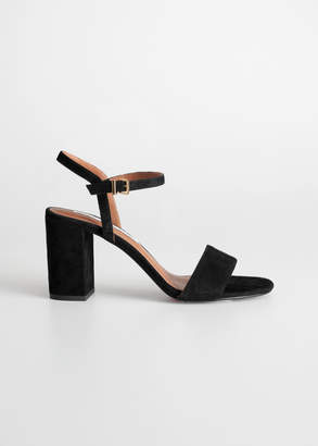 And other stories Strappy Block Heel Sandals