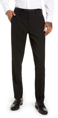 Topman Kingley Slim Fit Tuxedo Pants