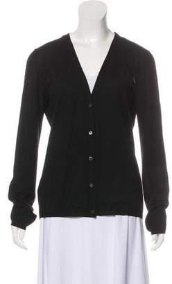 Miu Miu Knit Button-Up Cardigan