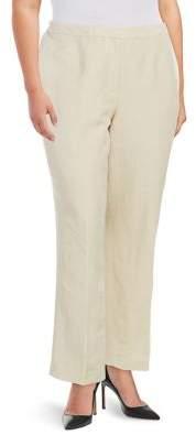 Nipon Boutique Plus Classic Wide-Leg Pants