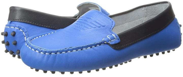 Armani JuniorArmani Junior - Leather Driving Shoe Boy's Shoes
