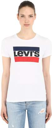 Levi's Vintage Logo Printed Jersey T-Shirt
