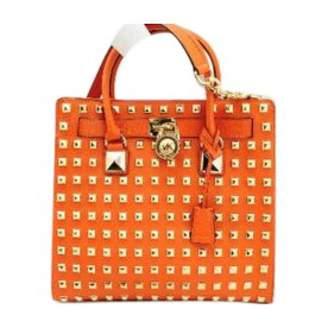 Michael Kors Orange Leather Travel bags