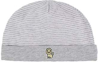 Barneys New York Infants' Striped Hat - Gray