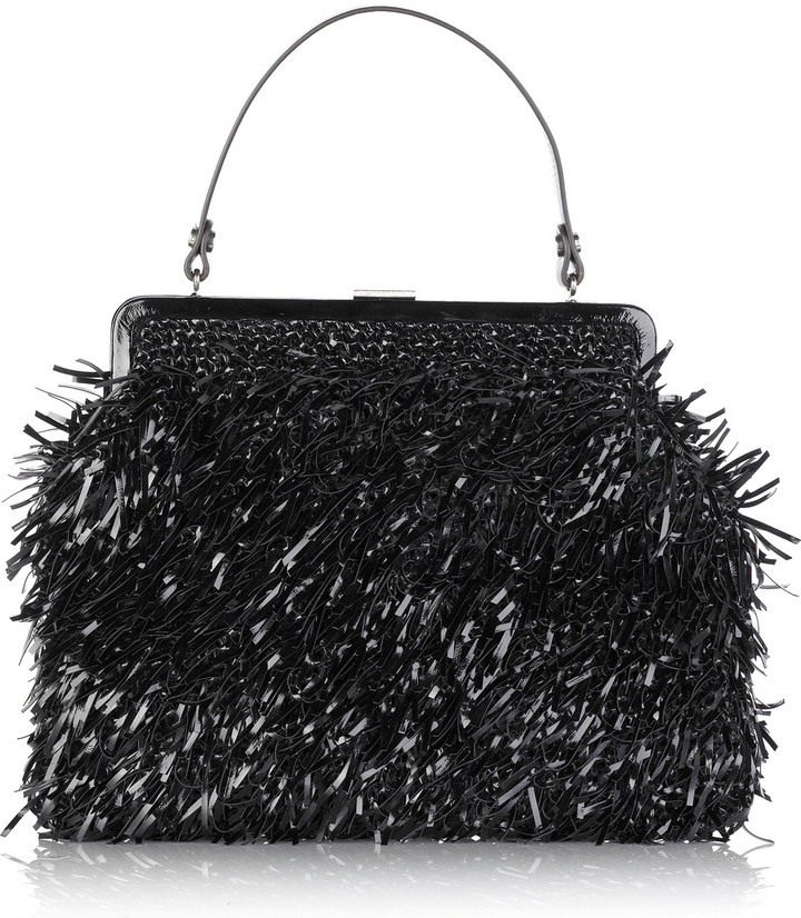 Marni Tinsel leather bag