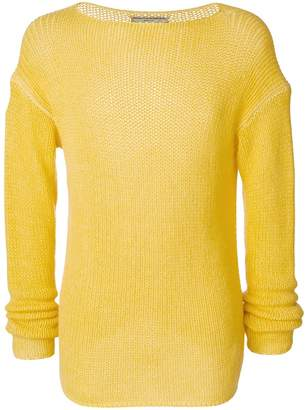 Ermanno Scervino crew neck jumper