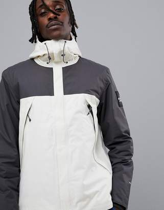 The North Face 1990 ThermoBall Mountain Jacket in White/Black