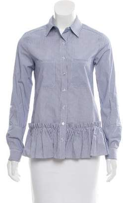 DREW Striped Button-Up Top w/ Tags