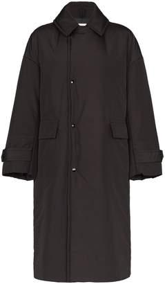 Hyke oversized collared coat