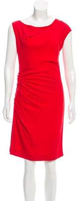Mantu Sleeveless Ruched Dress