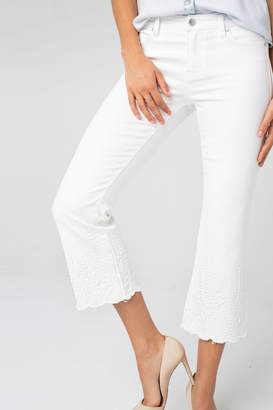 Liverpool Lucy crop flare crop jeans
