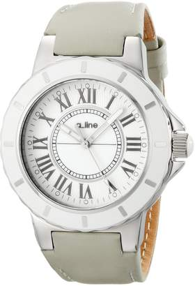 A Line A_Line Women's 20011 Marina Dial Grey Leather Watch