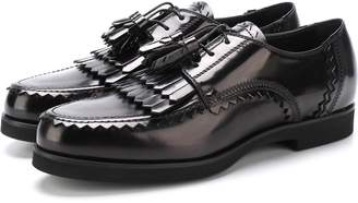 Tod's Leather Derby With Tassels