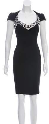 Just Cavalli Paneled Dress