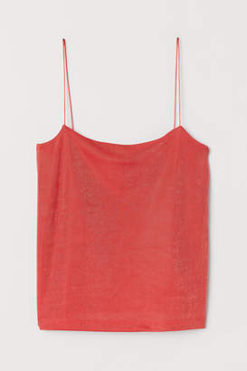 H&M Camisole Top with a Sheen