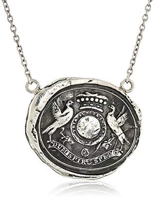 "Pyrrha talisman"" Sterling While I Breathe I Hope Necklace"