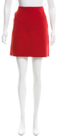 LanvinLanvin Stretch Knit Mini Skirt