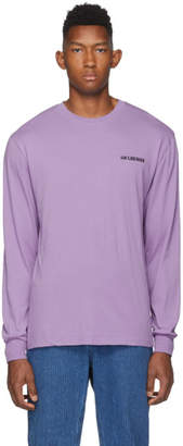 Han Kjobenhavn Purple Casual Long Sleeve T-Shirt
