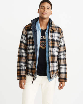 Abercrombie & Fitch Wool-Blend Jacket