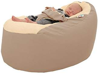 Rucomfy Gaga Plus Baby and Toddler Bean Bag, Linen