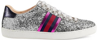 Ace glitter low-top sneaker $650 thestylecure.com
