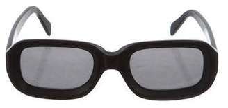 Illesteva Vinyl Matte Sunglasses