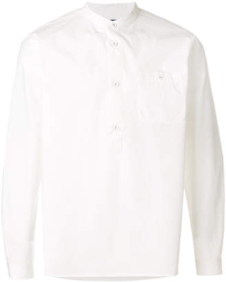 White Mountaineering fitted pullover shirt