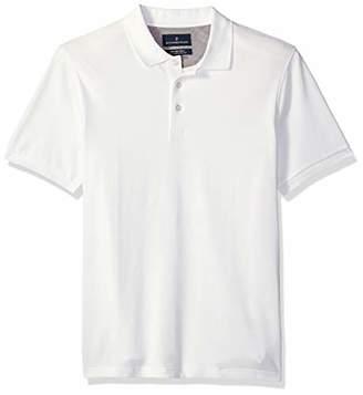 Buttoned Down Men's Slim-Fit Supima Cotton Stretch Pique Polo Shirt