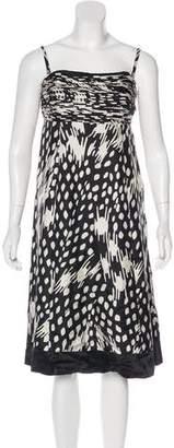 Ted Baker Silk Printed Dress