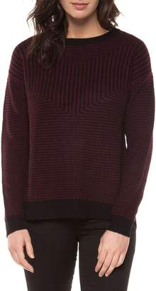 Dex Long-Sleeve Textured Sweater
