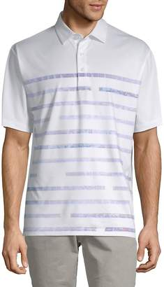 Callaway Men's Striped Short-Sleeve Polo