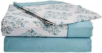 Camilla And Marc Home Creative Tucci 10014245 Bedding Set, Cotton, Blue, 3 X 150 X 3 CM