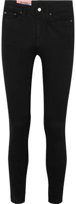 Acne Studios Peg High-rise Skinny Jeans - Black
