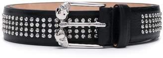 Alexander McQueen skulls buckle belt