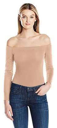 KENDALL + KYLIE Women's Off Shoulder L/s Bodysuit