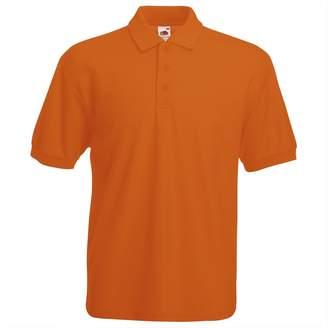 Fruit of the Loom Men's 65/35 Polo Shirt - L