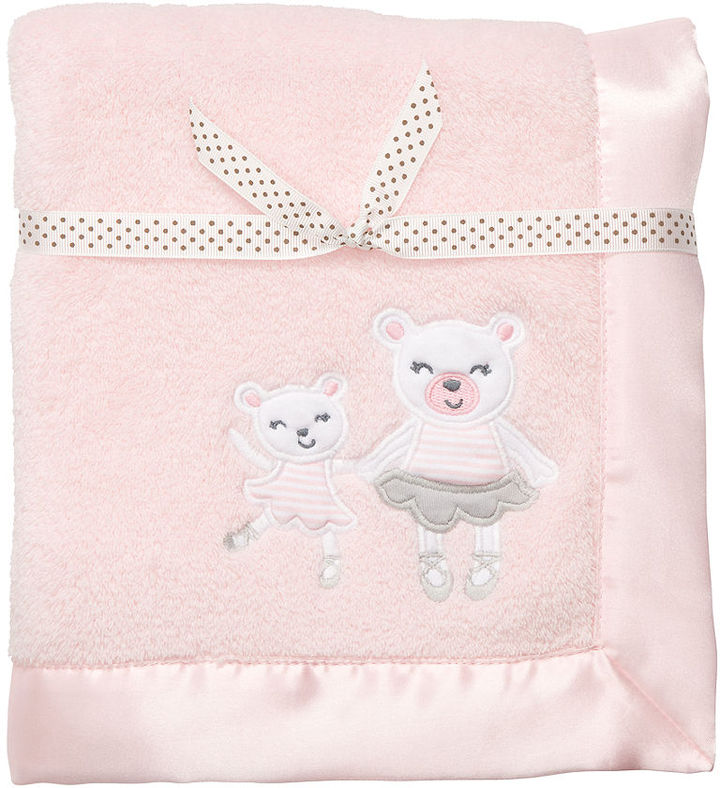 Carter's Baby Blanket, Baby Girls Plush Bear Blanket