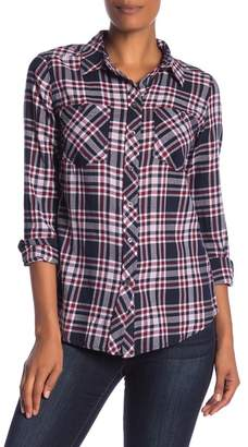 Joe Fresh Front Button Plaid Shirt