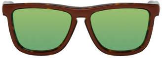 Loewe Brown and Tortoiseshell Square Padded Sunglasses