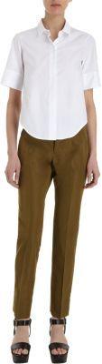 Jil Sander Cropped Slim Fit Pants