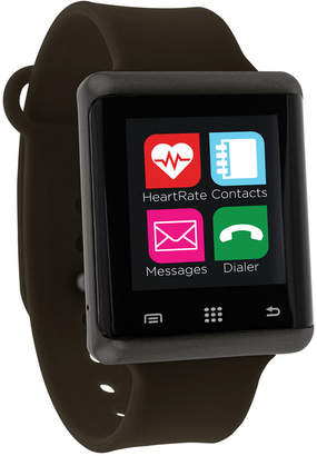 iTouch Unisex Pulse Olive Green Silicone Strap Smart Watch 45mm, Created for Macy's
