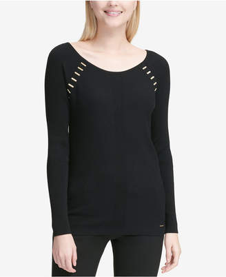 Calvin Klein Hardware-Detail Sweater