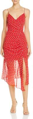 Finders Keepers Ruched Blossom Dress