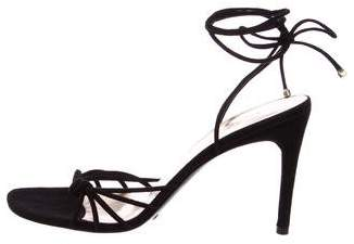 Dolce & Gabbana Suede Ankle Strap Sandals w/ Tags