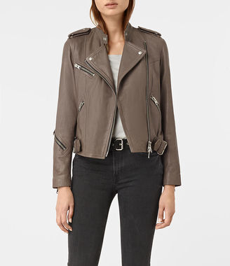 Atkinson Leather Biker Jacket $560 thestylecure.com