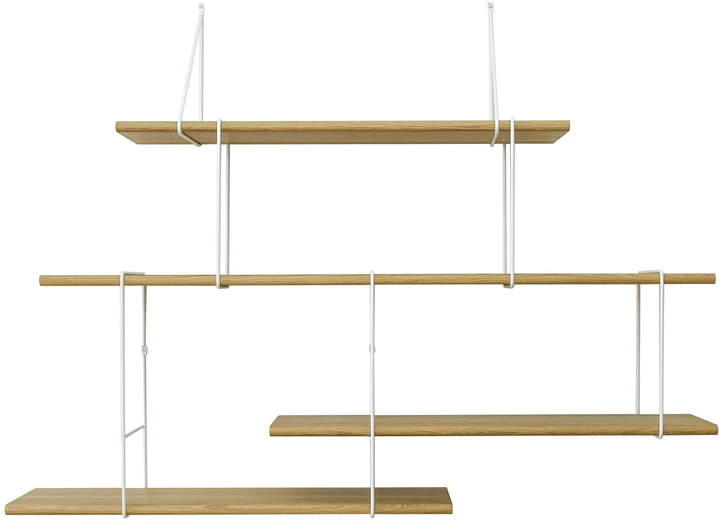 Studio Hausen - Link Setup 2, Eiche natur / weiß
