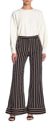 Lucca Couture Isla Stripe Wide Leg Pants