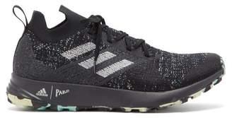 adidas Terrex Two Parley Primeknit Trainers - Mens - Black